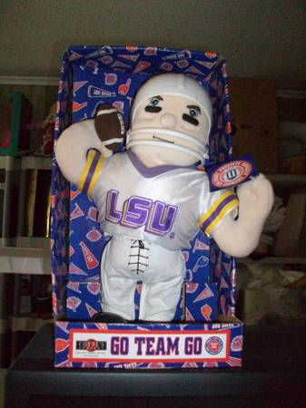 LSU football doll -   x0024 40  Sulphur