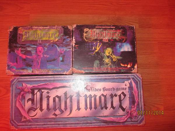 nightmare board games with dvds -   x0024 60  lake charles