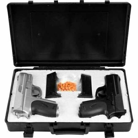 Airsoft Pistol Dueling Kit with 2 Pistols -   x0024 30  La