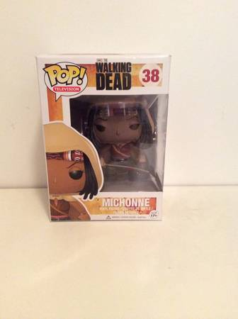 The Walking Dead Michonne Pop TV Mint -   x0024 15  Iowa  Louisiana