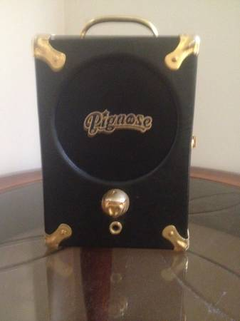 Pignose Portable Amp 25th Anniversary - $60 (Lake Charles)