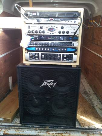 Peavey Tour 700-700 watt Bass Head Amplifier and the rest of the stuff - x0024900 (lake charles)