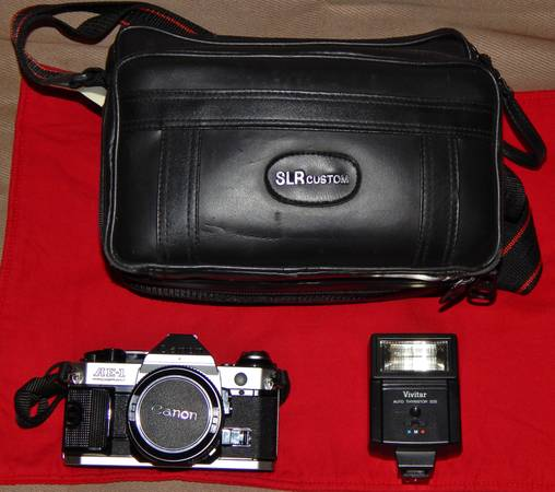 CANON AE1 PROGRAM SLR CAMERA -  150  DERIDDER