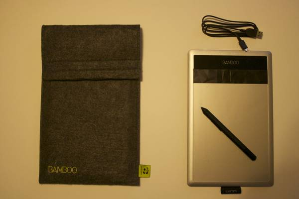 WACOM BAMBOO TABLET AND CASE -  80  Lafayette  La