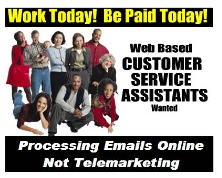 Email processing - Work from home