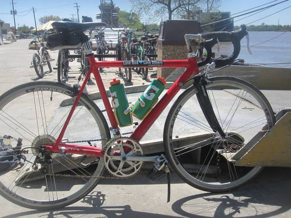 10 000 to the return of my cannondae road bike  Lake charles and surrounding area