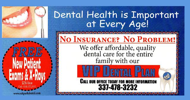 No Insurance - No Problem   Affordable Dental Care Plan