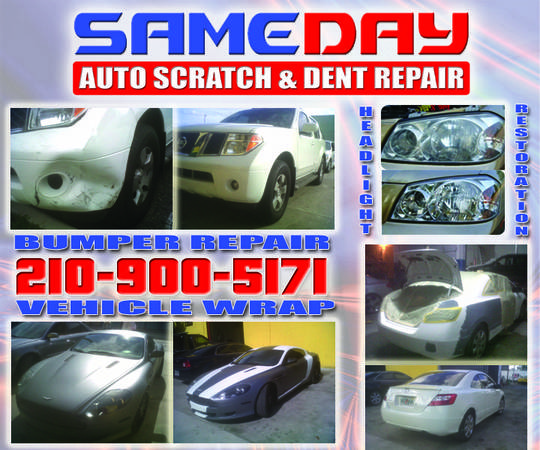 SAME DAY SCRATCH DENT REPAIR (San Antonio)