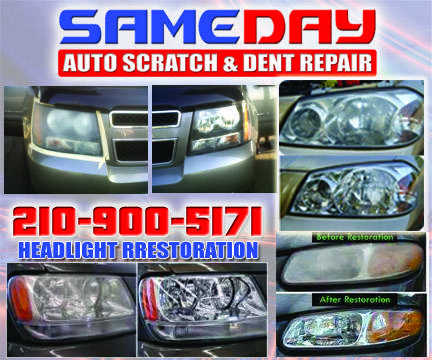 HEADLIGHT RESTORATION 5 YEAR WARRANTY $29.99 (San Antonio)