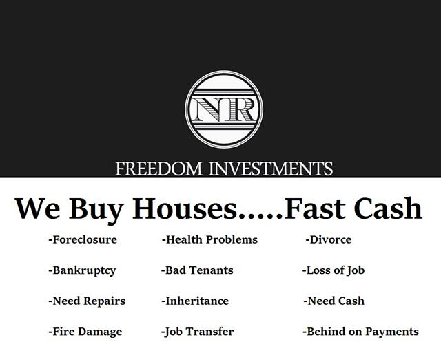 Need to sell your house for cash