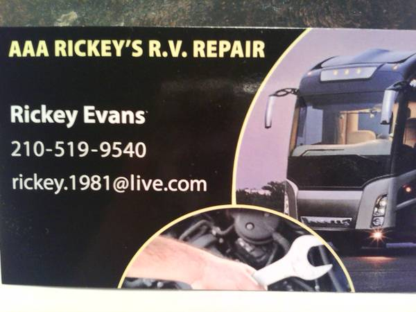 RV REPAIR--- WITH OUT THE BIG SHOP PRICE
