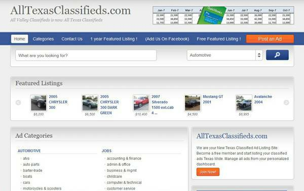 9608   9608  FREE TEXAS WIDE CLASSIFIEDS  TEXAS WIDE