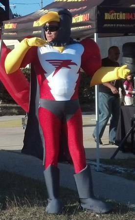 Company Superhero Mascot Needed  Laredo Area