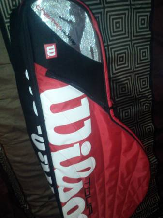 tour rackets bag  amp  4 rackets -   x0024 40  laredo tx
