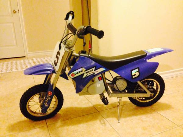 Razor Dirt Rocket MX 350 Electric Motorbike - Blue  -   x0024 100
