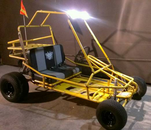 Selling BOTH 2 Seater Go Karts TOGETHER $1200 o.b.o - $1200 (Laredo Texas)