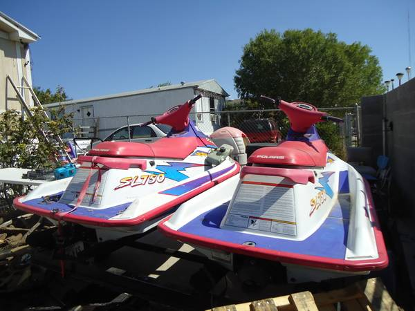 1995 Polaris XL 750 JETSKI 80 HORSEPOWER -   x0024 1650  3211 LEE AVE-WEST LAREDO