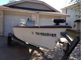 1988 Gulfline 18 6 Center Console Skiff 70hp Johnson - $3000 (Laredo)