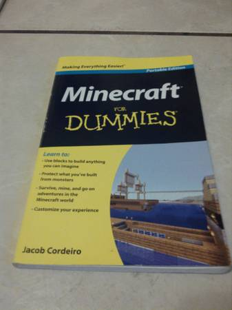 Minecraft For Dummies -   x0024 7  East Laredo