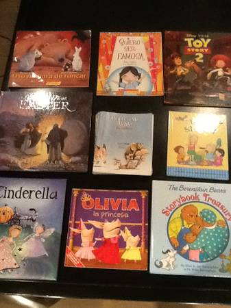 9 children s books for 10 dollars  -   x0024 10  North Laredo