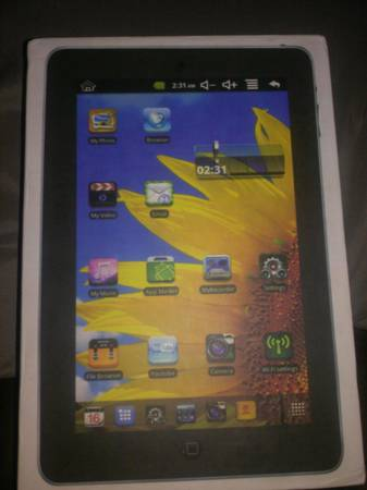 tablet android  -   x0024 75  south