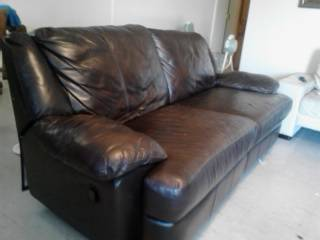 recliner sofa, love seat and chair - $250 (laredo)
