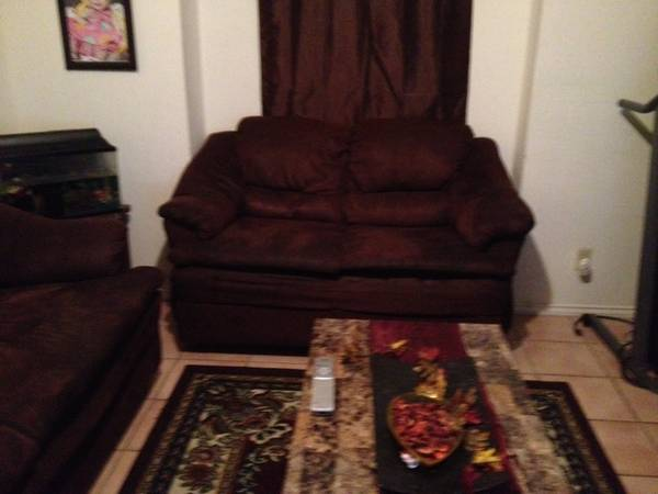 Lacks Sofa, love seat coffee table ALL THREE $125 - $125 (Heights Area)