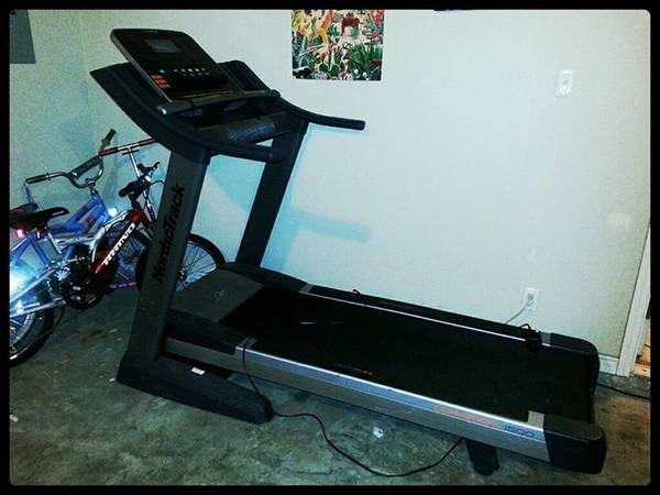 Nordictrack Commercial 1500 Treadmill - $750 (Eagle Pass)