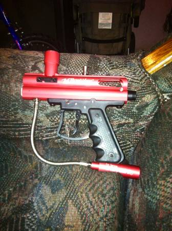 Paintball guns and equipment - $375