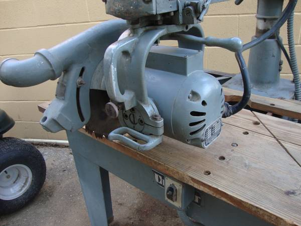 Heavy Duty Dewalt 12 Radial Arm Saw - $700 (Laredo,  Texas.)