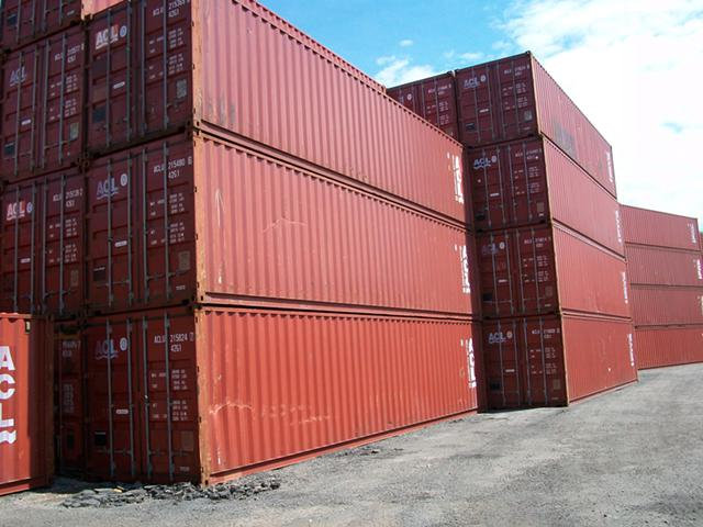 1 650  New  Used 40  45  20  Shipping Cargo Containers for sale direct from the Depot