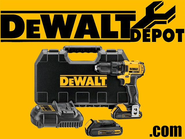 98  DeWalt 20V Compact Drill Driver Kit NEW
