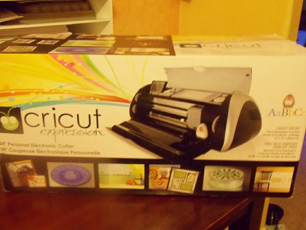 Cricut Expressions in Black - $125 (Laredo, TX (Lakeside))