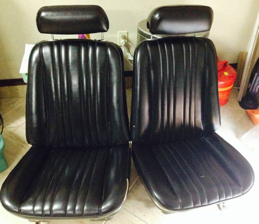 Chevelle Bucket Seats-GTO, OLDS 442, CUTLASS ETC - x0024900 (Laredo)