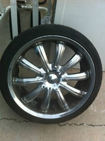 20 inch Incubus Chrome Rims - $500 (South Laredo)