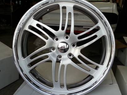 Intro Billet 24 Inch wheels with brushed finish and cleared - $4200 (Dallas)