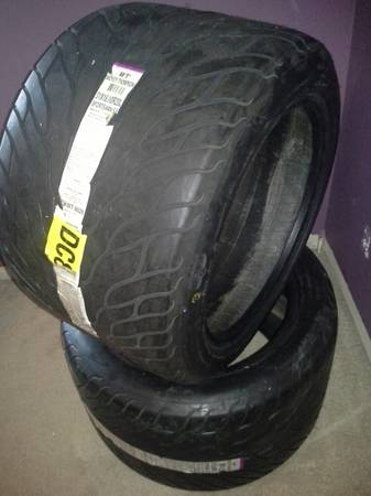 Mickey Thompson sportsman tires (laredo)