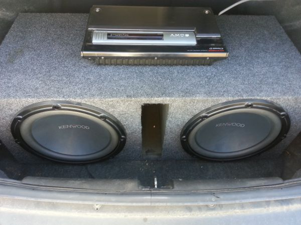 2 12 Kenwood subs $80 - $80