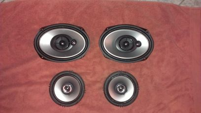 Sony Xplod car speakers - $35 (Laredo)