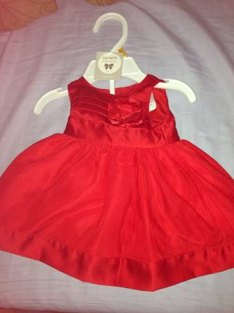 New born Carter s baby girl dress -   x0024 5