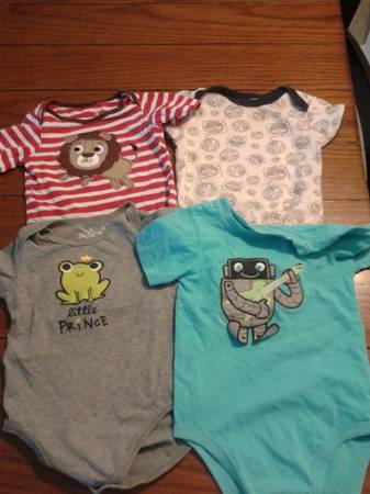 baby boy summer clothes 3-9mos -   x0024 20  close to LMC