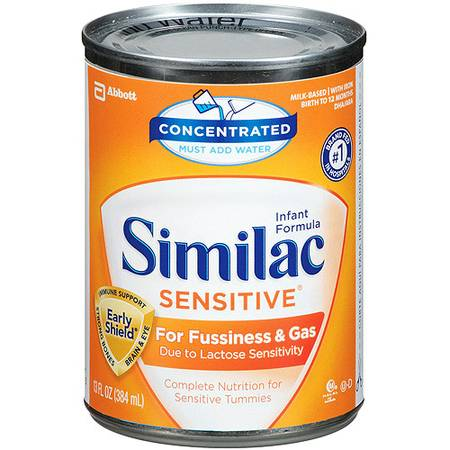 BABY FORMULA  SIMILAC SENSITIVE  -   x0024 4