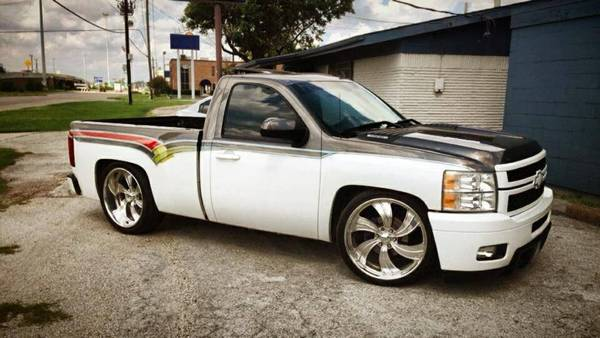 Chevy Silverado 08 Custom 24 Intro Wheels - $23000 (Houston )