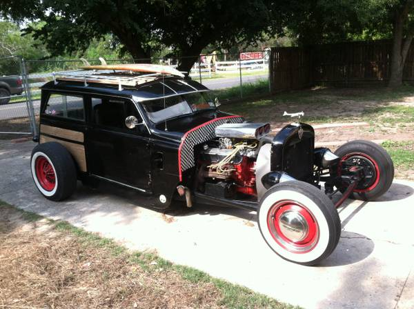 1950 crosley woody rat rod hot rod trade for model T 1924 - $6500 (brownsville)