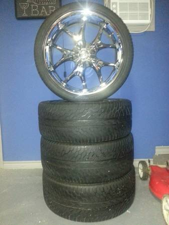 $$ selling 22 inch rims - $950
