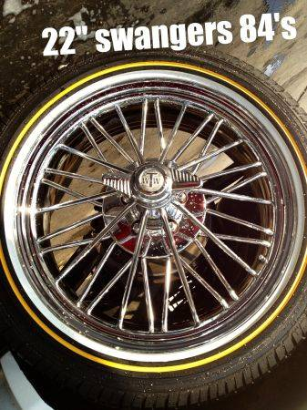 SWANGAS 22 SUPAS DROPPED PRICE - $2500 (San Antonio, TX)