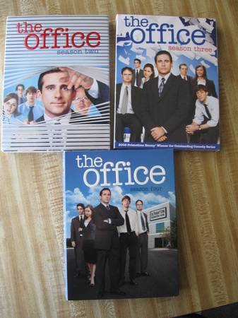 The Office Seasons 2, 3, and 4 - $30 (airlineholly)