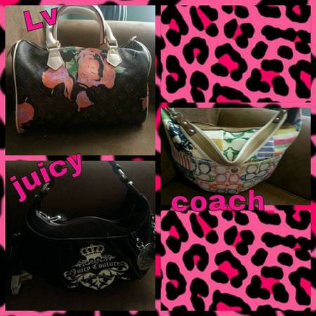 Bolsas coach juicy