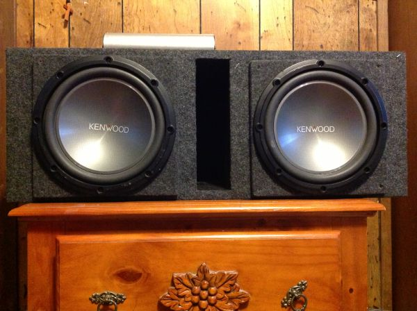 10 kenwood subs w - $135 (mines rd)