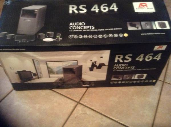 Ashton Ross home theater (Laredo,Tx)